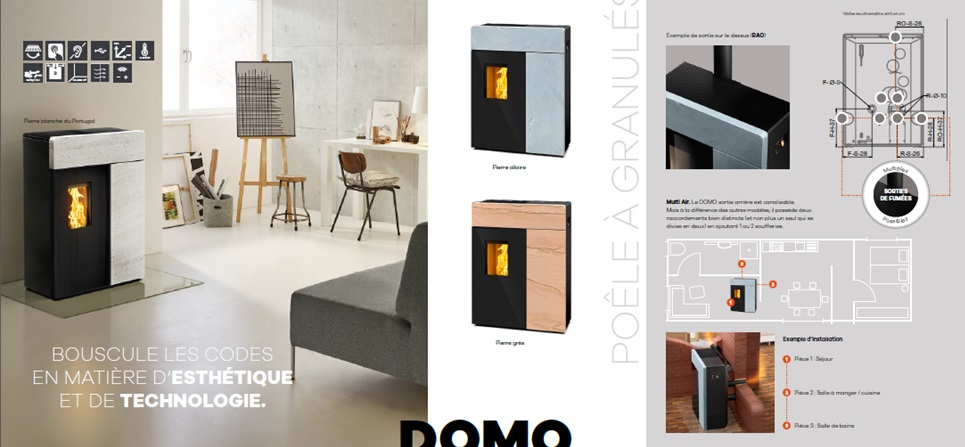 domo rika nantes 44. Black Bedroom Furniture Sets. Home Design Ideas