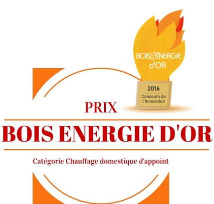 RIKA remporte le Bois Energie d'Or au concours de l'innovation !